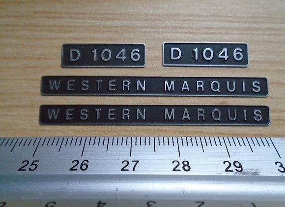 D1046 WESTERN MARQUIS