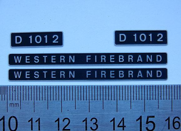 D1012 WESTERN FIREBRAND