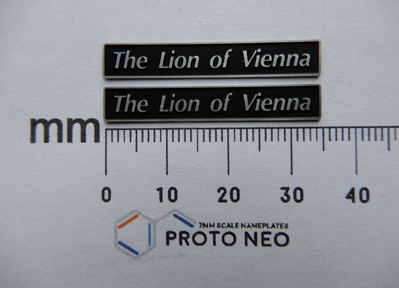 47807 The Lion of Vienna