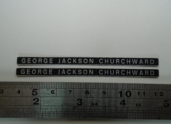 D1664 GEORGE JACKSON CHURCHWARD