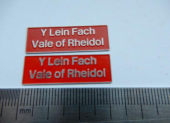 37426 Y Lein Fach/ Vale of Rheidol