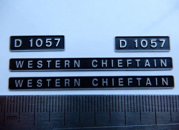 D1057 WESTERN CHIEFTAIN