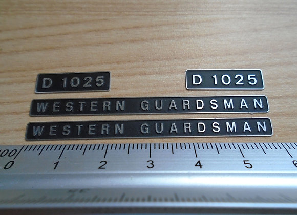 D1025 WESTERN GUARDSMAN