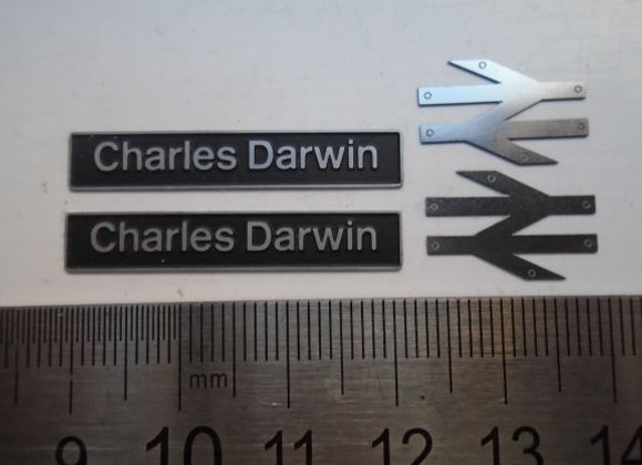 60068 Charles Darwin with double arrows