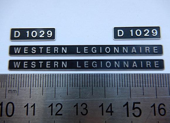 D1029 WESTERN LEGIONNAIRE