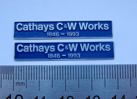 37414 Cathays C&W Works