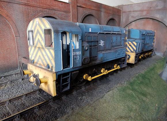 Class 13 conversion kit. Converts 2 x Dapol class 08's