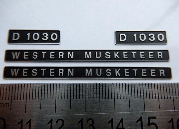 D1030 WESTERN MUSKETEER