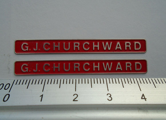 47079 G. J. CHURCHWARD