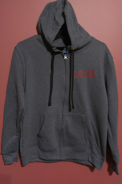 LADSE REGULAR ZIP-UP HOODIE