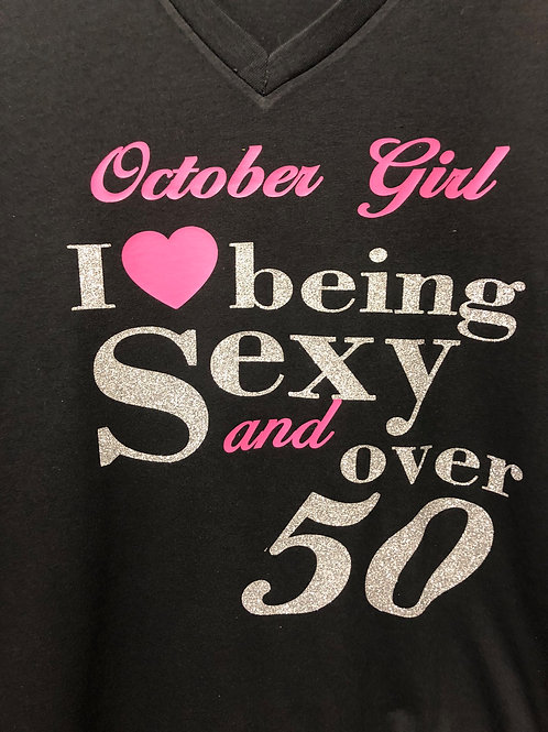 I LOVE BEING SEXY T-SHIRT