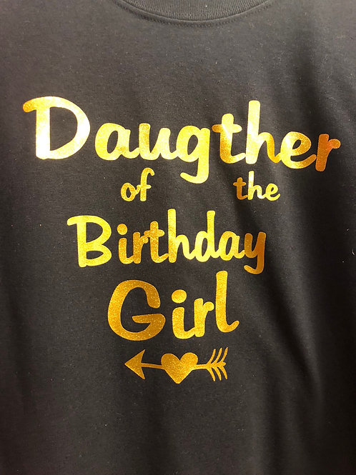 DAUGTHER OF THE BIRTHDAY GIRL