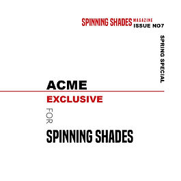 ACME x SPINNING SHADES SOUND [soundcloud]