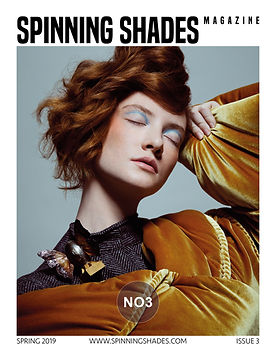SPINNING SHADES Magazine - ISSUE NO3 [ COVER BY AGA WOJTUN ]
