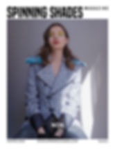 SPINNING SHADES Magazine -ISSUE NO6 [ COVER BYDANIEL ALANIS ]