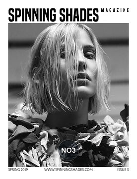 SPINNING SHADES Magazine -ISSUE NO3 [ COVER BY HAMZA KULENOVIC ]