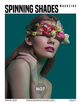 SPINNING SHADES Magazine - ISSUE NO7 [ COVER BY PIOTR MINKSZTYM ]