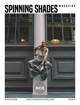SPINNING SHADES Magazine - ISSUE NO6 [ COVER BY TAYLOR SHANE]