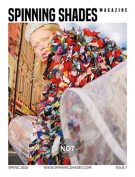SPINNING SHADES Magazine -ISSUE NO7 [ COVER BYUNNA GLUSHAKOVA ]