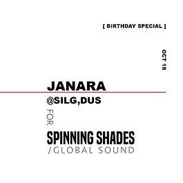 JANARA x SPINNING SHADES SOUND [soundcloud]