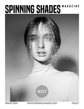 SPINNING SHADES Magazine - ISSUE NO7 [ COVER BY JULIA BLANK ]