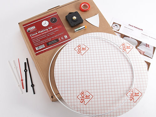 Round Clock Making Kit 30cm (battery included)