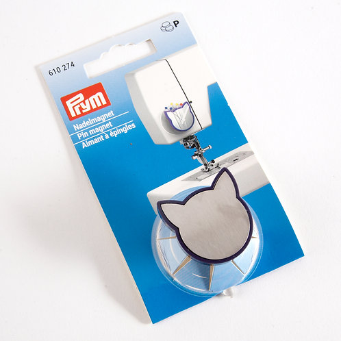 Prym Cat Pin Magnet with suction pad