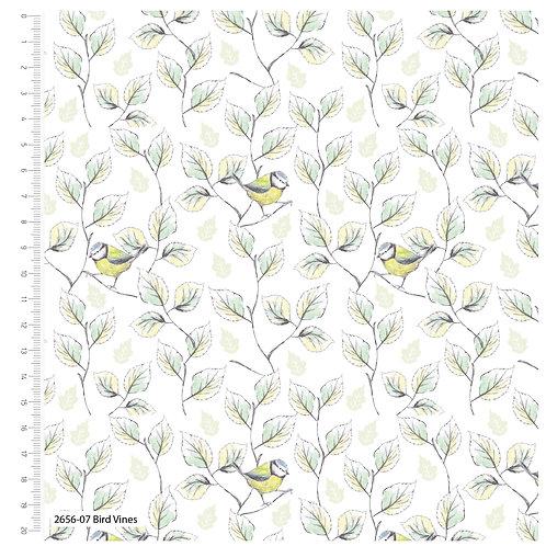 PRE ORDER Debbie Shore 'Garden Birds' - Bird Vines (price per half metre)