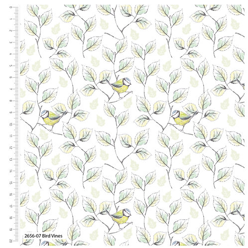 Debbie Shore 'Garden Birds' - Bird Vines (price per half metre)
