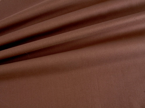 Plain Cotton - Brown (price per half metre)
