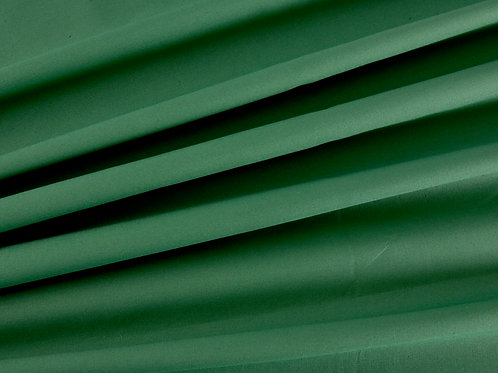 Plain Cotton Poplin - Green (price per half metre)