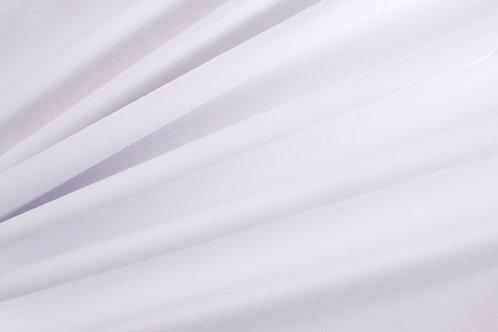 Plain Cotton Poplin - White (price per half metre)