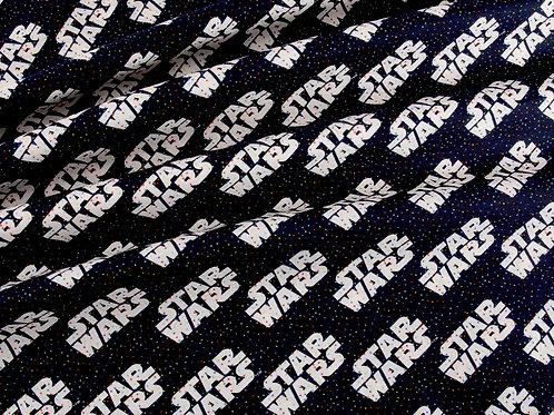 Star Wars Logo Dots - Black (price per half metre)