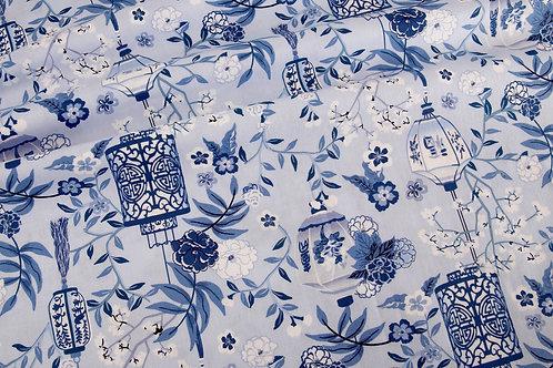Michael Miller Pagoda Dreams - Blue