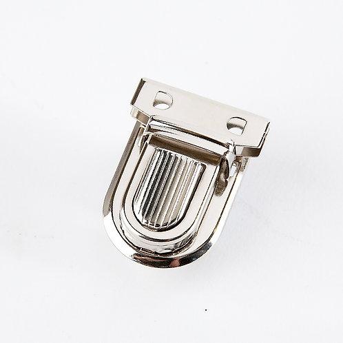 Tuck Lock Clasp - Silver