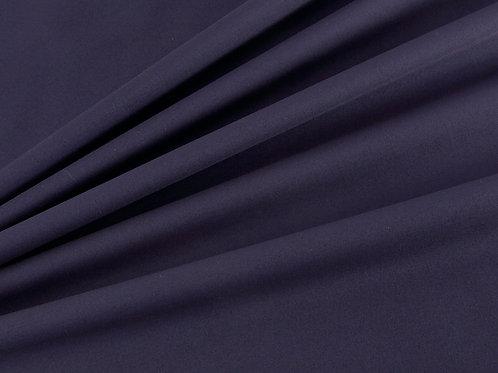 Plain Cotton Poplin - Navy (price per half metre)