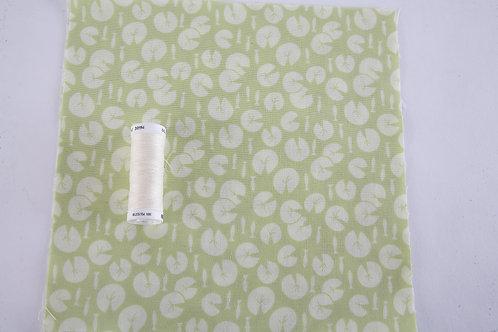 Lily Pad - Green Lily Pads Fabric (price per half metre)