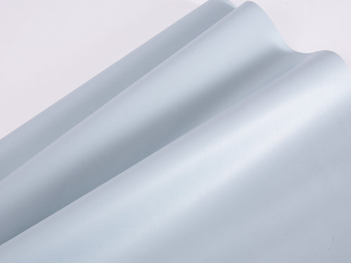 Faux Leather - Sky Blue super soft (price per half metre)
