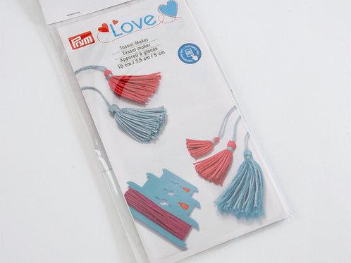Prym Love Tassel Maker - 3 Sizes 5cm 7.5cm 10cm