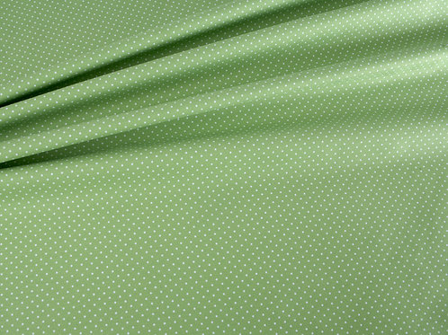 Green Pin Spot Cotton
