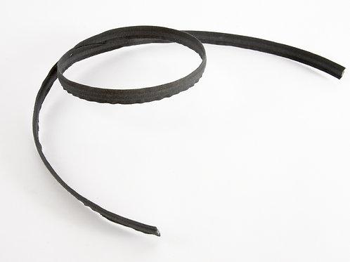 Boning - Black Cotton Covered   12mm   (price per metre)
