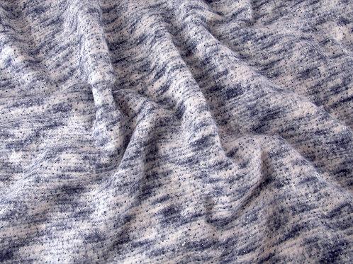 Winter Lurex Knit - Navy