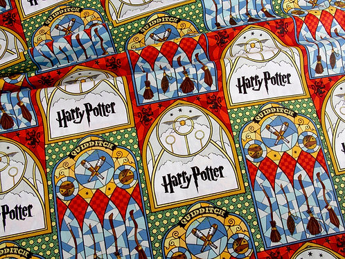Harry Potter - Large Stained Glass Print Cotton