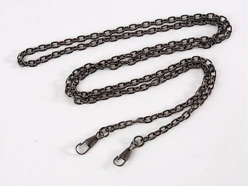 Bag Chain Strap (link chain)  - Gunmetal Grey 120cm