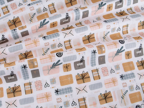 Present Wrapping Cotton Fabric