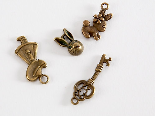 Alice in Wonderland Charm -  Try the Key 4