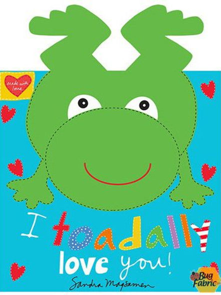 Huggable & Loveable Book Panel - Frogs