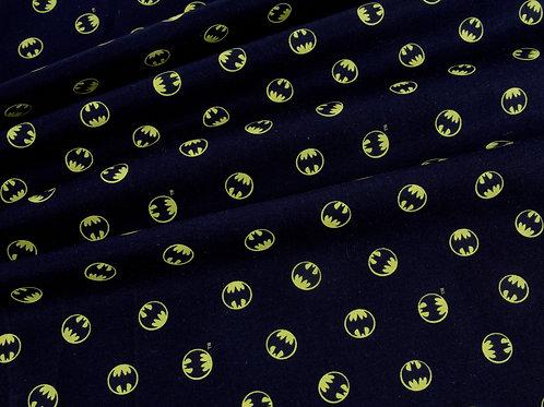 Batman Logo Print Cotton