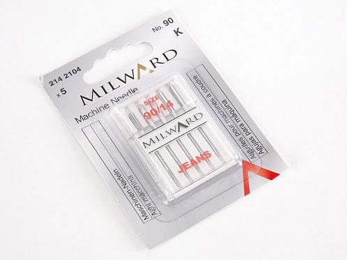 Milward Jeans needles 90/14
