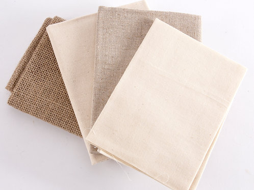 Natural 4 Fat Quarter Pack